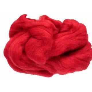 Merino Wool Tops Poppy Red MW34